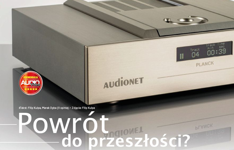 CD player Audionet PLANCK - Reference player of the Berlin company (PL)